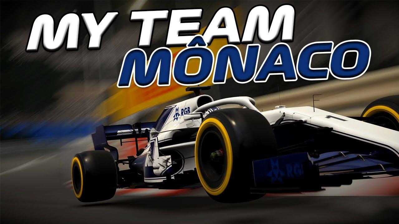 F1 2020 - MY TEAM - GP DE MÔNACO - A NUVEM DE TEMPESTADE NÃO SAI DA MINHA CABEÇA - EP 74
