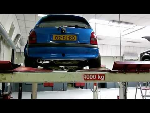 Opel Corsa B 1.6 16v Ecotec GSI - Maatwerk RVS uitlaatsysteem van EPS Uitlaten BV
