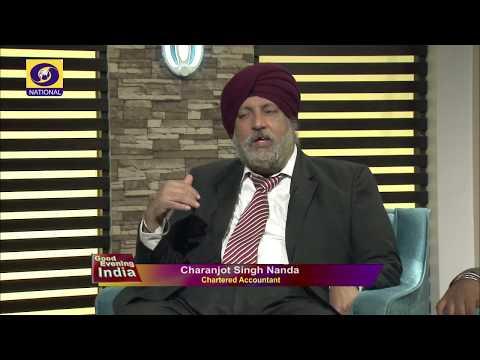 ITR Filling | Subham Goyal  | Charanjot Singh Nanda | Good Evening India