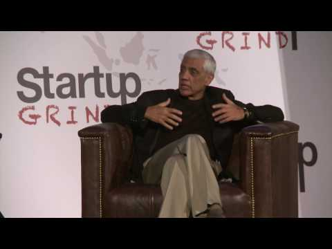 Entrepreneurs, Don't Be Afraid to Fail | Vinod Khosla (Khosla Ventures) @ Startup Grind