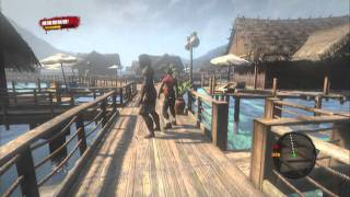PS3 - Dead Island Gameplay Part 18 (Zombie Sharks?)