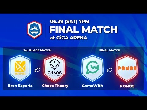 クラロワリーグ アジア2019 シーズン1 Playoff Finals