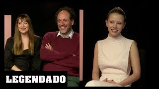 [LEGENDADO] Dakota Johnson, Luca Guadagnino e Mia Goth - HeyUGuys