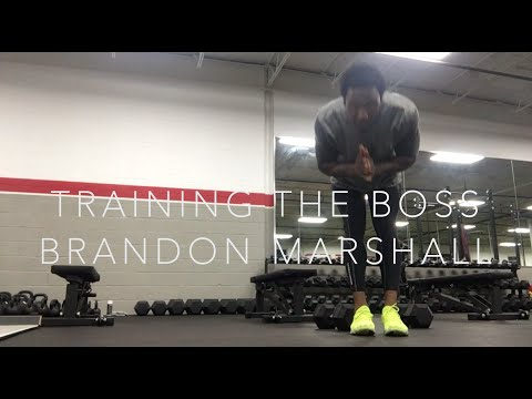 Training The Boss, Brandon Marshall