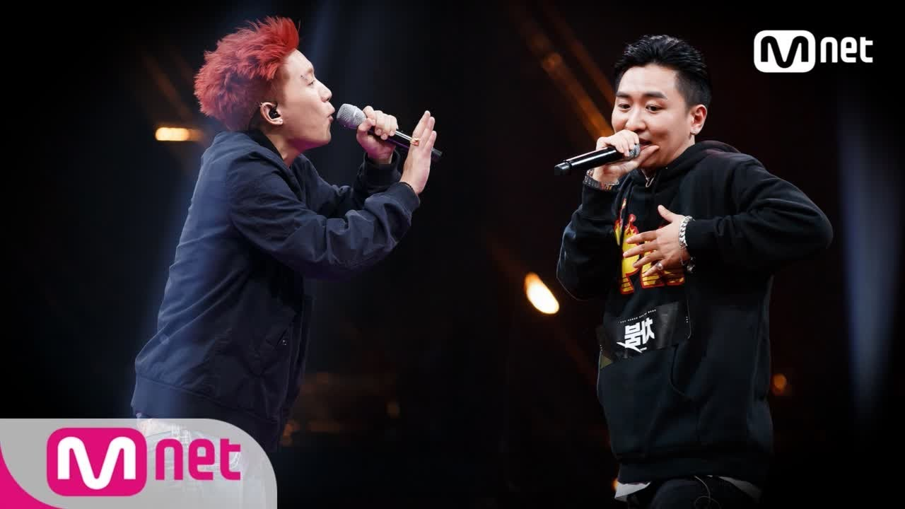 [ENG sub] Show Me The Money777 [6회] '도발 그 자체!' 나플라 vs 차붐  @팀 배틀 181012 EP.6
