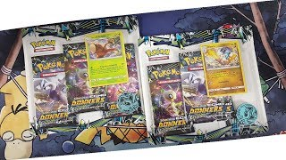 2 Echo des Donners Blister Packs! Pokemon Booster Unboxing Opening