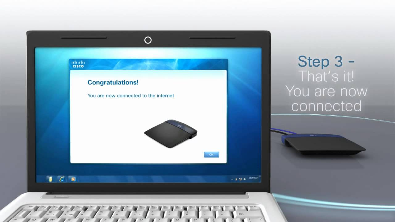 LINKSYS CISCO CONNECT SOFTWARE SETUP FOR ESERIES ROUTERS AND X SERIES MODEM  ROUTERS - VIDEO REEL