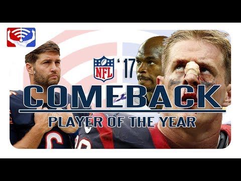 COMEBACK PLAYER OF THE YEAR | NFL