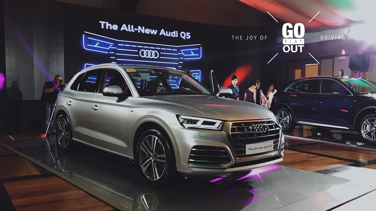 The 2018 Audi Q5 Go Flat Out Car Launch