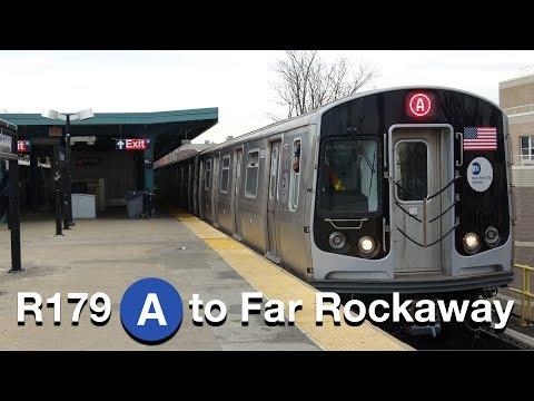 ⁴ᴷ R179 Set 3050-3053 Testing on the (A) Line to Far Rockaway