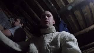 Мотобуксировщик Бурлак М2 в мороз, выезд на рыбалку п.Угоян