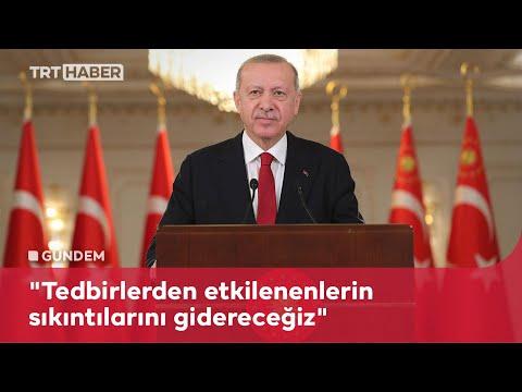 Cumhurbaşkanı Erdoğan: Bayram sonrası kontrollü normalleşmeye başlıyoruz