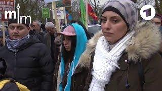 Kurden in Deutschland demonstrieren gegen türkischen Militäreinsatz in Syrien