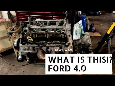 Ford 4.0 engine removed timing chains . What I think about the stuff!!