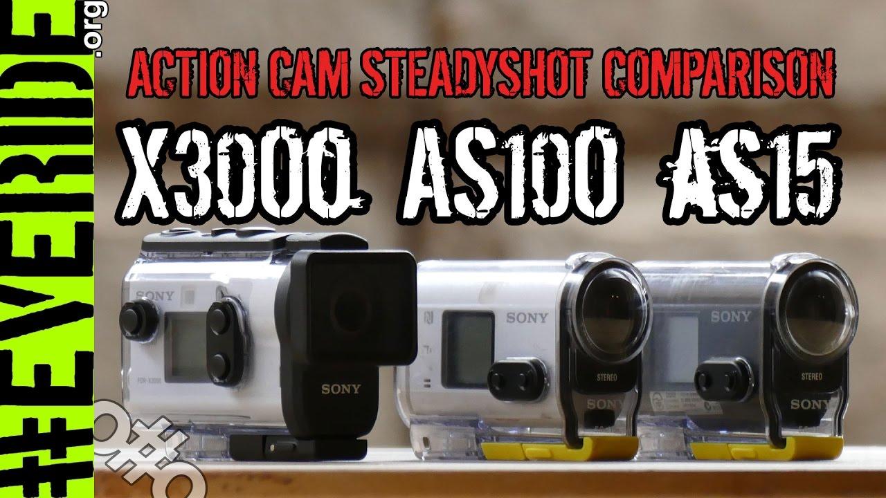 Экшн камера SONY HDR-AS15 - YouTube