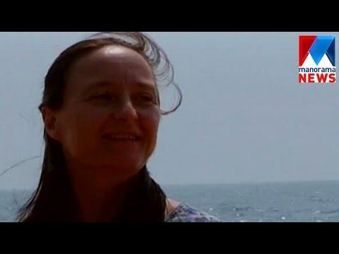 Italian lady's peace travel  | Manorama News