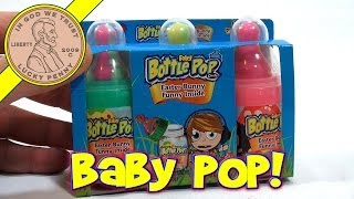 Baby Bottle Candy Dip Pop With Easter Bunny Funny Inside!