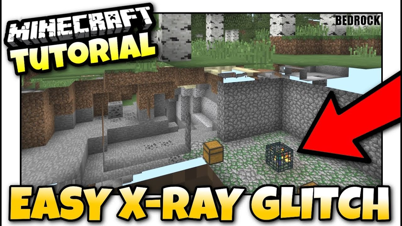 How To Get Xray In Minecraft Pe For Free