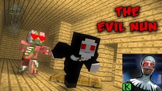 Monster School :THE EVIL NUN HORROR GAME CHALLENGE - MINECRAFT