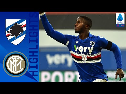 Sampdoria Inter Goals And Highlights