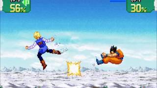 Gohan/Piccolo vs Android Team | Dragon Ball Z Supersonic Warriors [GBA]