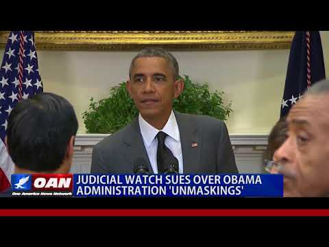 Judicial Watch Sues Over Obama Administration 'Unmaskings'