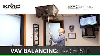 VAV Balancing - BAC-5051E Router