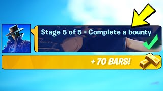 Get a Bounty from a Bounty Board & Complete a Bounty (EASY GUIDE) - Fortnite
