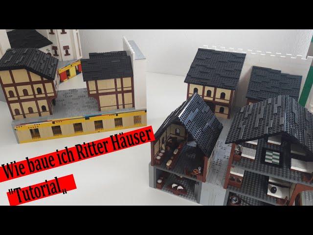 Mittelalterliches Lego Haus Tutorial