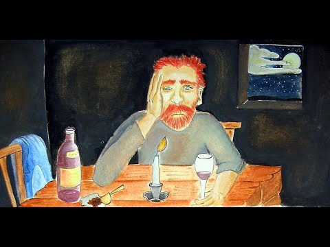 The Story of Van Gogh, Told in the Style of Van Gogh