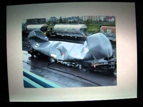 Buckling Of A Rail Car Tank Under External Pressure Youtube