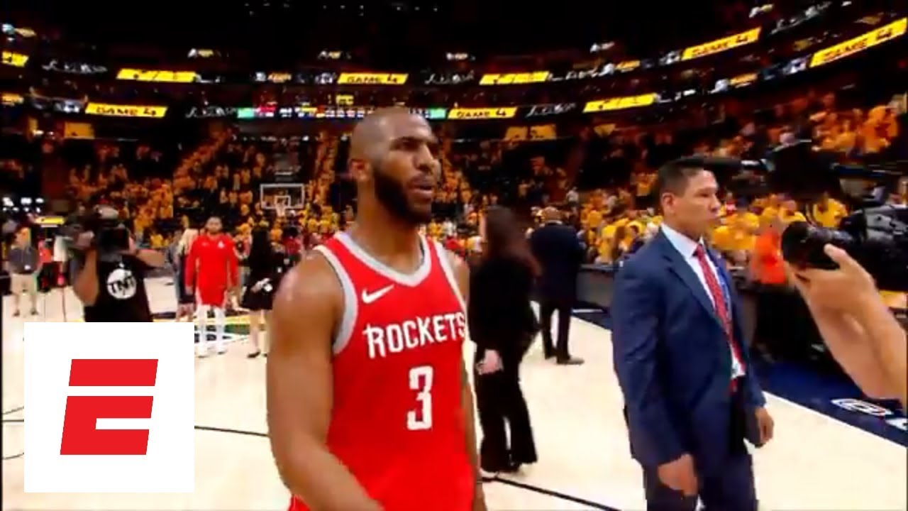 Chris Paul, James Harden combine for 51 points, extend Rockets' series lead to 3-1 over Jazz | ESPN