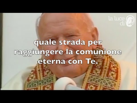 Preghiera a San Giovanni Paolo II per ottenere le grazie.