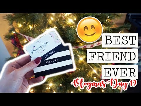BEST FRIEND EVER & BEING A ROLE MODEL? || Vlogmas Day 19