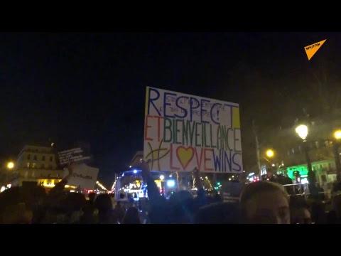 Marche contre l'antisémitisme à Paris