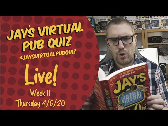 Virtual Pub Quiz, Week 11: No Daleks Tonight. Includes an Ad