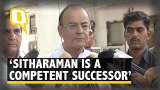 Video Nirmala Sitharaman Is an Extremely Competent Successor: Arun Jaitley download MP3, 3GP, MP4, WEBM, AVI, FLV September 2017