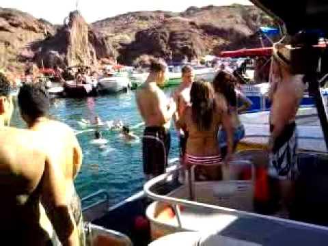 Lake Havasu Spring Break >> LAKE HAVASU COPPER canyon 2010 w/ CAPTAIN BEN part 8 - YouTube