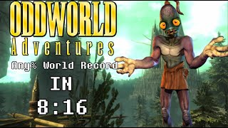 Oddworld Adventures Any% in 8:16 [World Record]