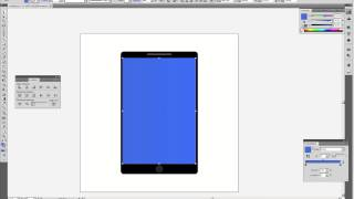 How to draw a mobile phone in Illustrator
