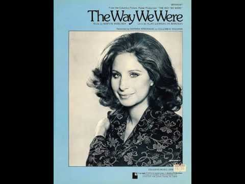 Barbra Streisand - The Way We Were / The Way We Weren't (rehearsals)