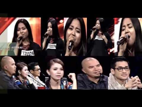 Ajeng Astiani Audisi X Factor
