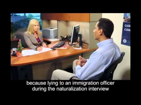 Naturalization Interview