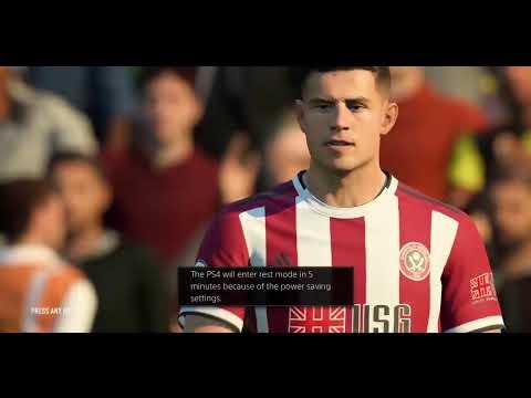 Sheffield United Manager career Mode Fifa 20 - YouTube