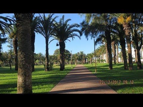 جولة الى حديقة فيلا هاريس ملاباطا  طنجة 22 12 2017 tangier morocco