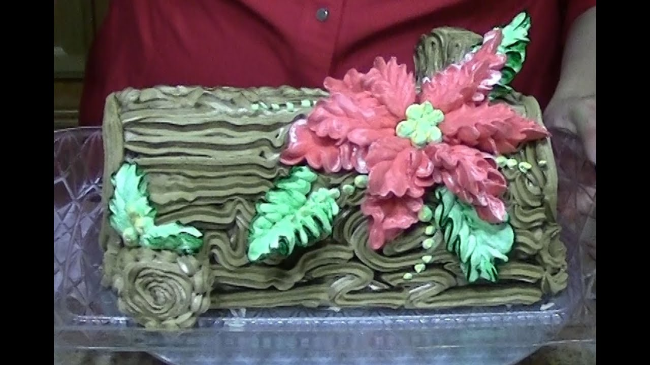 What Is A Yule Log Cake Made Of