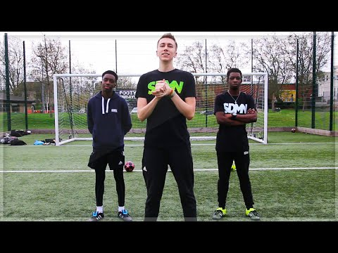 NO BOUNCE FOOTBALL CHALLENGE!!