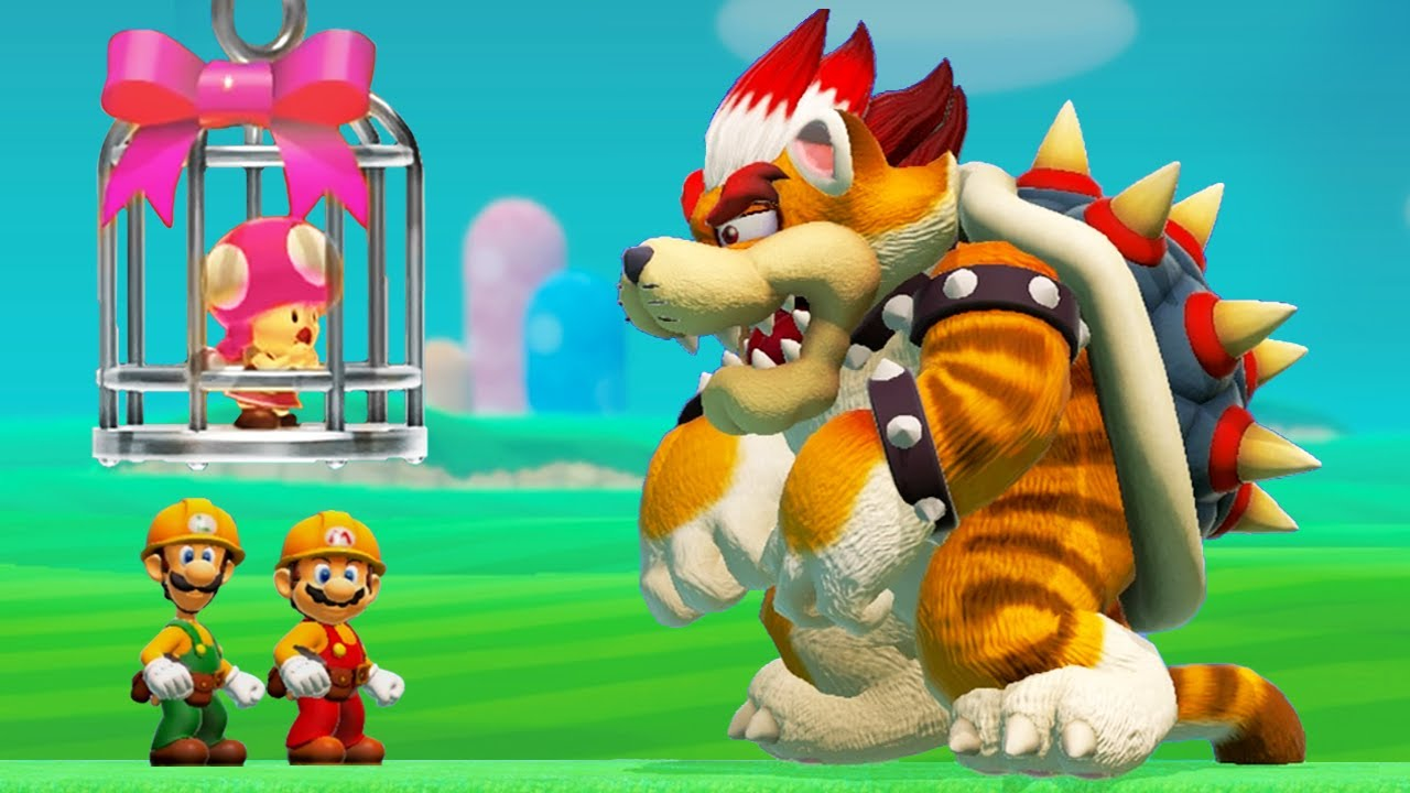 Super Mario Maker 2 - All Castles