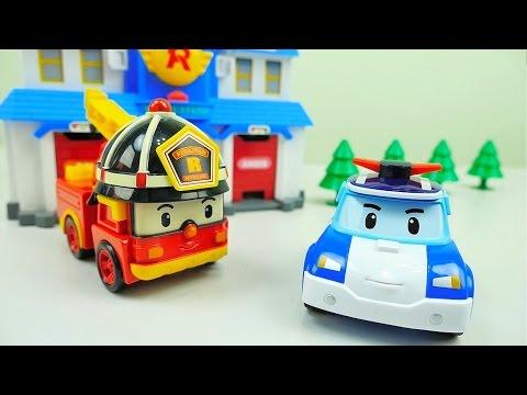 Мультик Полицейская машина. Пожарная  машины
