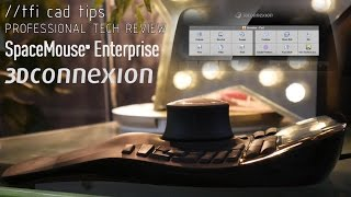 3DConnexion SpaceMouse Enterprise - 3D Mouse Full Review (New for 2016)